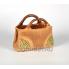 Керамическое кашпо Дамская сумка зелёная h19см, d23*11см, 2,3л
