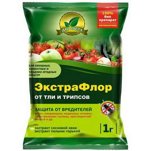 Инсектицид ЭкстраФлор №1 (от тли и трипсов) 1 гр