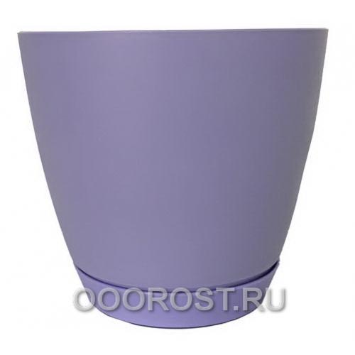 Горшок Камея 3,2л (фиолетовый) d18,2см  h16,5см