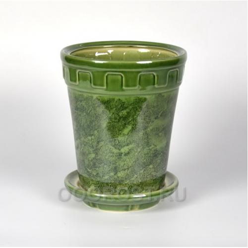 Горшок Альфа №3 зеленый 3.6 л