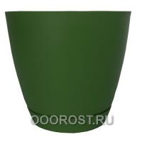 Горшок Камея 3,2л (зеленый) d18,2см  h16,5см