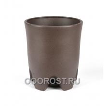 Горшок Везувий крошка шоколад 20л, d33 см, h 37.5 см