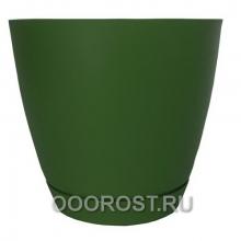 Горшок Камея 1.4л зеленый d13.8см h13см