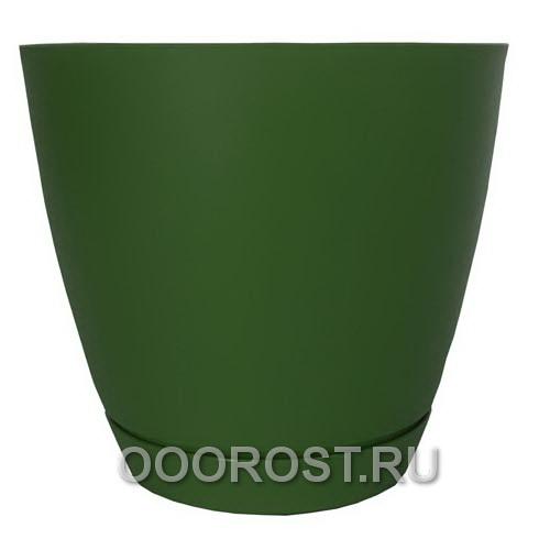 Горшок Камея 1,4л (зеленый) d13,8см  h13см