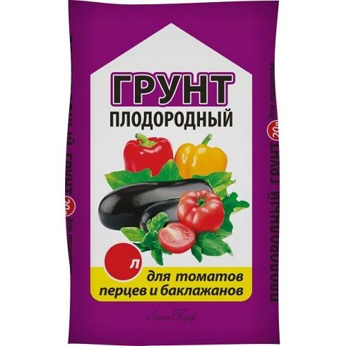 Грунт для томатов, перца и баклажанов Богатырь 10л