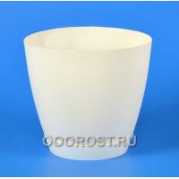 Горшок Камея 3,2л (белый) d18,2см  h16,5см