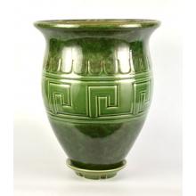 Горшок Аттика  мал  18л d 32  h 39 зеленый