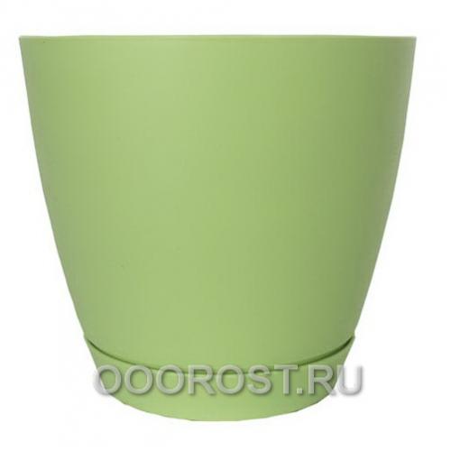 Горшок Камея 3,2л (салат)  d18,2см  h16,5см