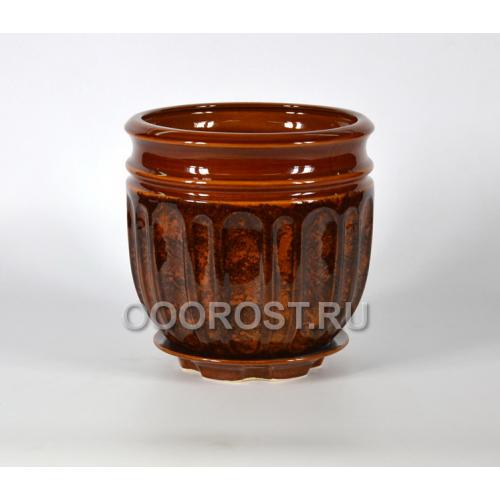 Горшок Гранд №1 (коричневый)  8,5л, d23см, h23см