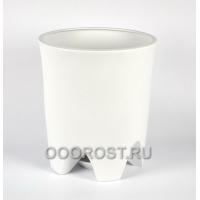 Горшок Везувий крошка белая 20 л, d33 см, h 37.5 см