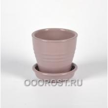 Горшок Ведро №5 глянец аметист 0.23л, d9, h8 см