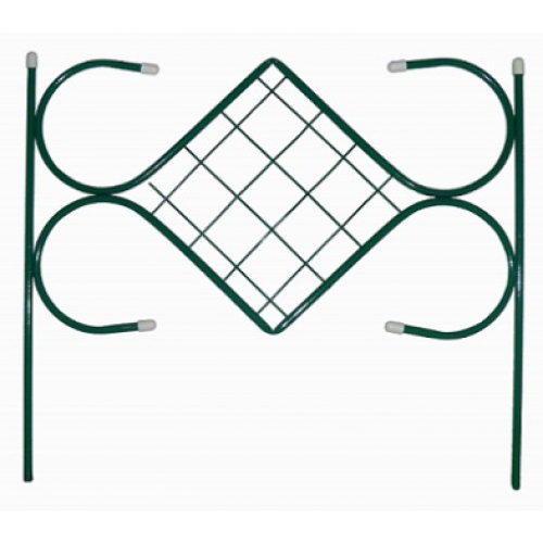 Заборчик Ромб малый 2,95м (5 секций 59*52 см)