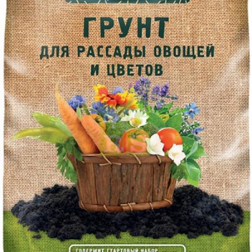 Грунт Огородник 22л для рассады и овощей