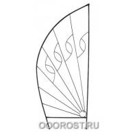 Пергола Парус (Высота 2150, ширина 800 мм)