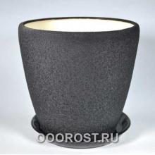 Горшок Грация №1 (шелк черн) 10 л