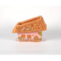 Керамическое кашпо Тоскана широкая розовое d28*20см, высота 19см, 2,5л