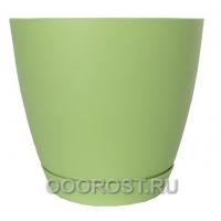 Горшок Камея 1,4л (салатовый) d13,8см  h13см