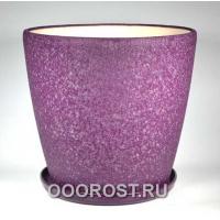 Горшок Грация №0 (шелк фиолет) 30л, d40см, h39см