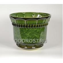 Горшок Фиеста №2 (зеленый) 10л, d29см, h26см