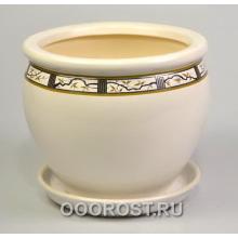 Горшок Вьетнам №2 (Бел сакура) 10л, d30см