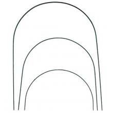 Дуги для парника 4м (стальная труба 6 шт в ПВХ)