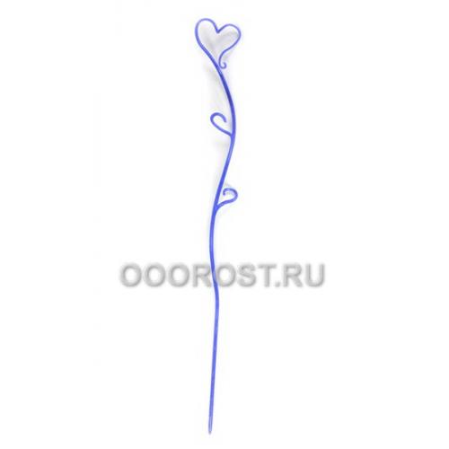 Держатель для орхидей Сердце h 55см Синий