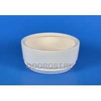 Керамический горшок Бонсай d23,5см h10см белый