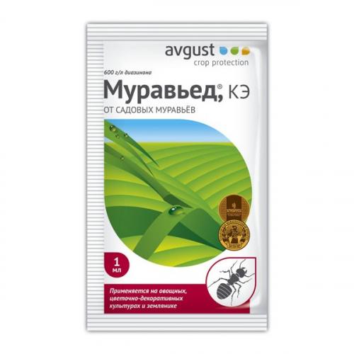 Инсектицид от муравьев Муравьед 1мл