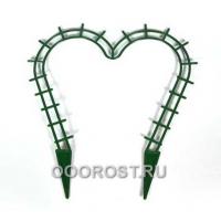 Поддержка для растений Сердечко зеленая