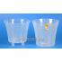 Горшок АРТЕ 1.2л прозрачный, d13.5см, h12.5см