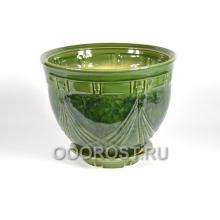 Горшок Мирида №1 (зеленый) 10л, d32см, h24см