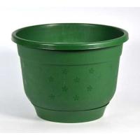 Горшок Флокс d19см 2,5л зеленый с поддоном