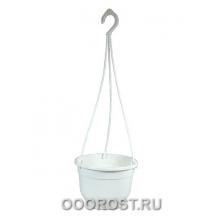 Горшок Флокс подвесной d22,5см 4,2л (бел)