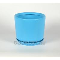 Горшок Лира №2 (голубой) 5л, D24см, H20см