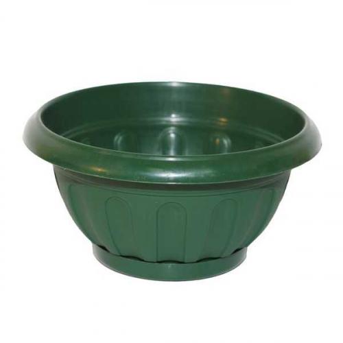 Горшок Ирис круглый d31,5см  6,2л зеленый
