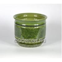 Горшок Уют №2 зеленый 5.5л, d23см, h21см