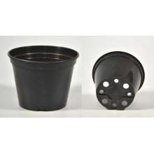 Горшок рассадный круглый d09, v0.28л черный