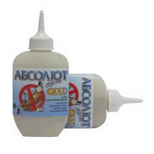 Инсектицид от муравьев и тараканов Абсолют ДУСТ 125см3