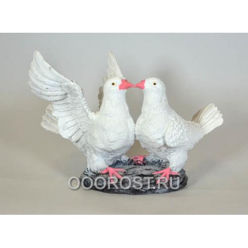 Фигура Два голубя  H 22см.