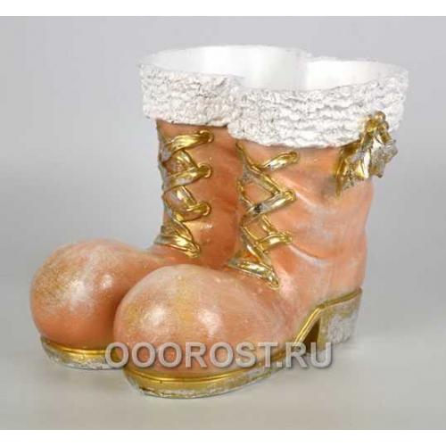 Кашпо Ботинки h 21 см