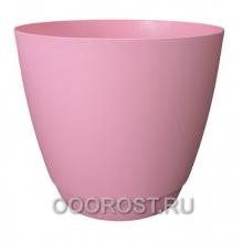 Горшок Камея 1.4л розовый d13.8см h13см