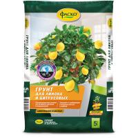 Грунт для лимона и цитрусовых Цветочное счастье 5л