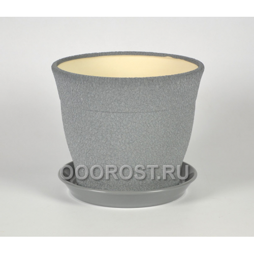 Горшок Флорис №1 (шелк металлик) 12,3л, d30см, h26см