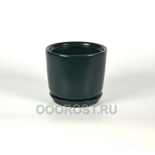 Горшок Лира №3 (зеленый) 2,5л, D19см, H16см