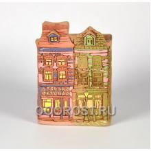 Керамическое кашпо домик Нидерланды № 2 высота 27см, ширина 18*13см, 4л