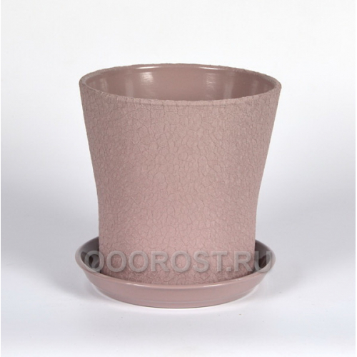 Керамический горшок Вуаль 4л шелк аметист
