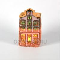 Кашпо Нидерланды дом №3 h23см, диаметр 13*13см, 2.2л
