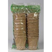 ЭТ Торфяные горшки(упак. 20 шт) d 8 см, h 8 см, 0.25 л.