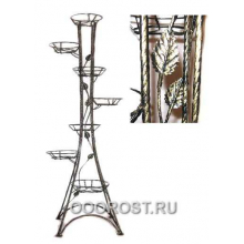 Подставка Березка-7   H 151см (Витая с листочками)