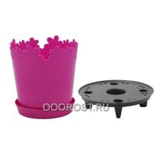 Горшок Лютик d17см h18 v2л розовый